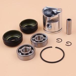 Image 3 - 39mm Piston Pin Ring Crank Bearing Oil Seal Kit Fit Husqvarna 235 236 236E 240 240E Chainsaw Engine Parts 545081894, 530056363