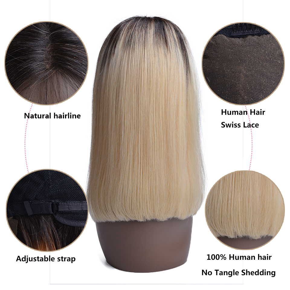 1B-613-Ombre-Blonde-Lace-Front-Human-Hair-Wigs-For-Black-Women-Brazilian-Short-Bob-Straight (1)