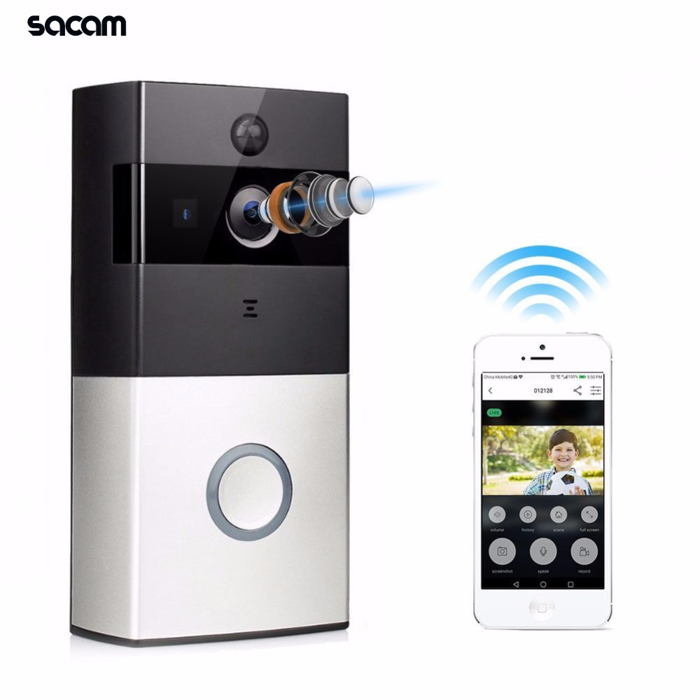 Wireless Wifi Video Doorbell Camera Outdoor Battery Camera