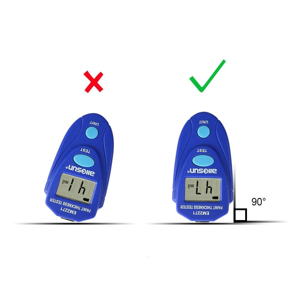 Medidor de espesor EM2271 Medidor de espesor de recubrimiento digital - Instrumentos de medición - foto 4