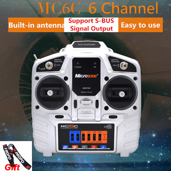 MicroZone MC6C 2.4G 6CH controller transmitter receiver radio system for RC airplane drone multirotor helicopter car boat free shipping mkron 2 4ghz dsm2 compatible 6ch programmable transmitter receiver for rc drone page 5 page 1