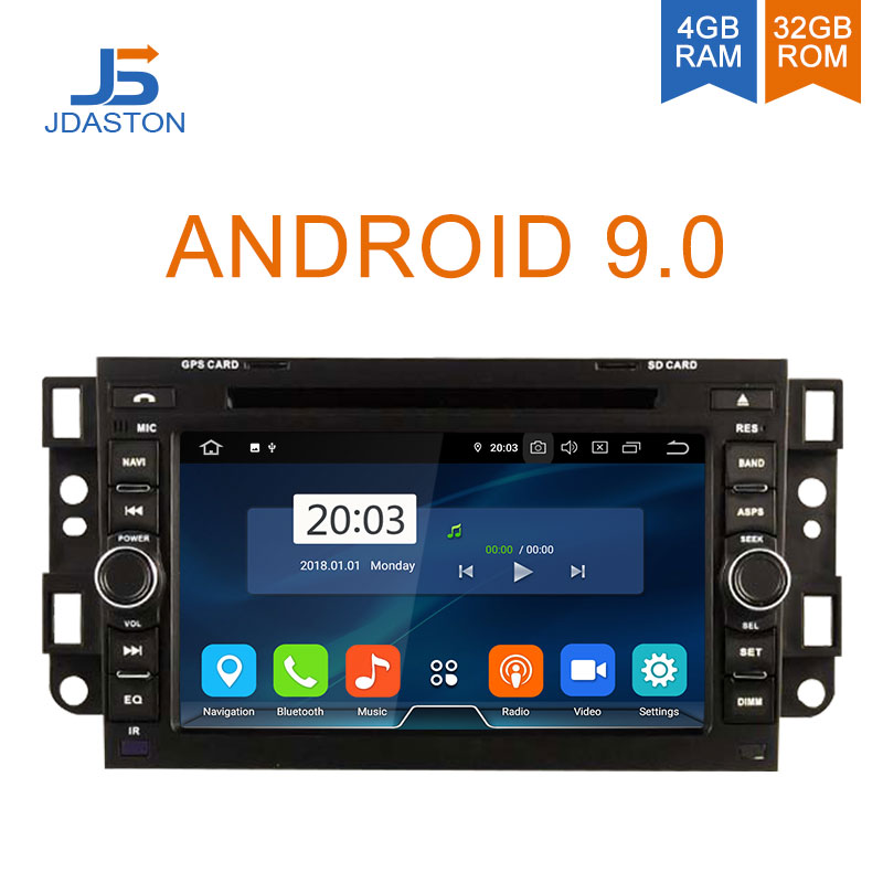 DASTON Android 9.0 Car Multimedia Player For Chevrolet Epica Captiva Lova Aveo Spark Optra Holden 2 Din Car Radio GPS Stereo DVD screenshot