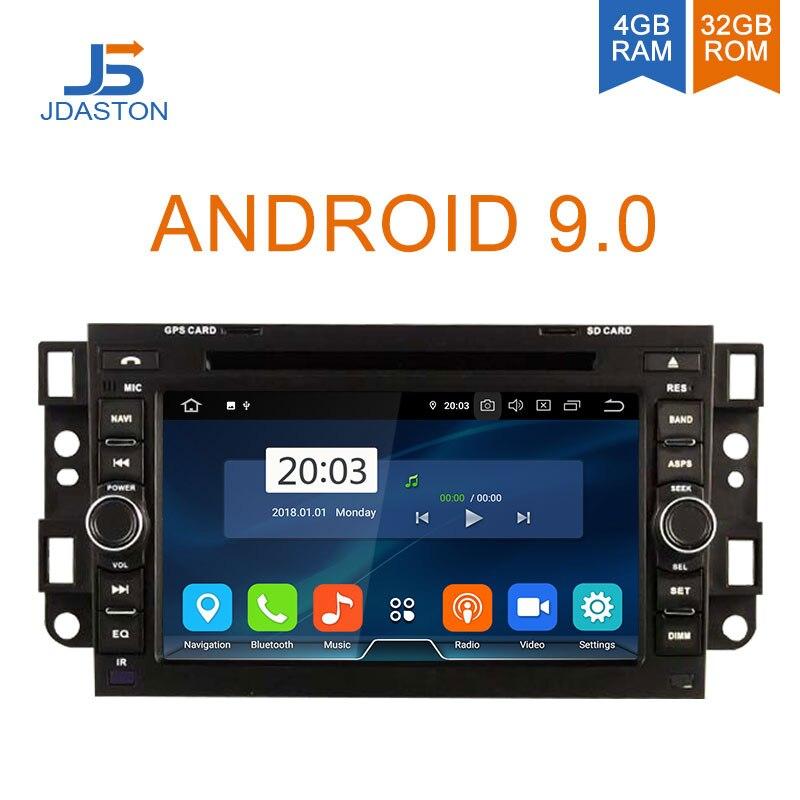 DASTON Android Leitor Multimédia 9.0 Carro Para Chevrolet Epica Lova Aveo Captiva Holden Spark Optra 2 Rádio Do Carro um Din GPS estéreo DVD