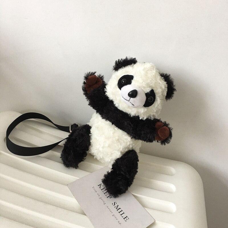 Fumetto Donne Sveglio Petto Regalo Lana Mini Bolsa Borse Dei Blackwhite Le Ragazze Bag Bambini Panda Casual Del Di Per Feminina Messenger Figura rqfrX