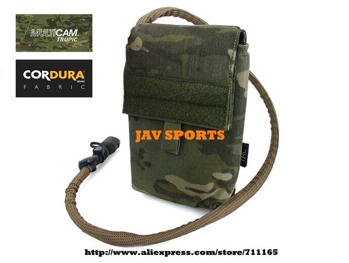 TMC LBT 6142 27OZ MOLLE Tactical Hydration Pouch Multicam Tropic Modular Source Hydration Bag+Free shipping(SKU12050204)