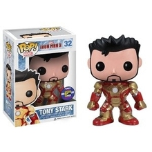 2013 SDCC Exclusive Official Funko pop Marvel Iron Man 3 - Tony Stark Vinyl Action Figure Collectible Model Toy In Original Box