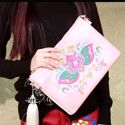 XIYUAN BRAND High quality women handbags pu leather embroidery bags ladies brand houlder bag vintage crossbody bags for women xiyuan brand ladies beautiful and high grade imports pu leather national floral embroidery shoulder crossbody bags for women
