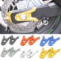 For Kawasaki Z800 2013 2014 2015 2016 2017 Motorcycle Accessories CNC Aluminum Rear Axle Spindle Chain