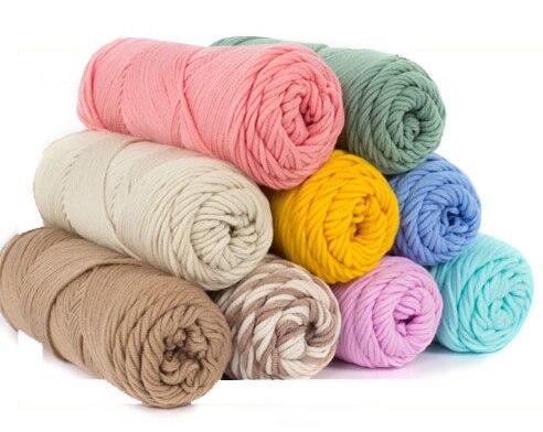 500 gr/los natürliche weiche baumwolle garn für stricken baby garn ...