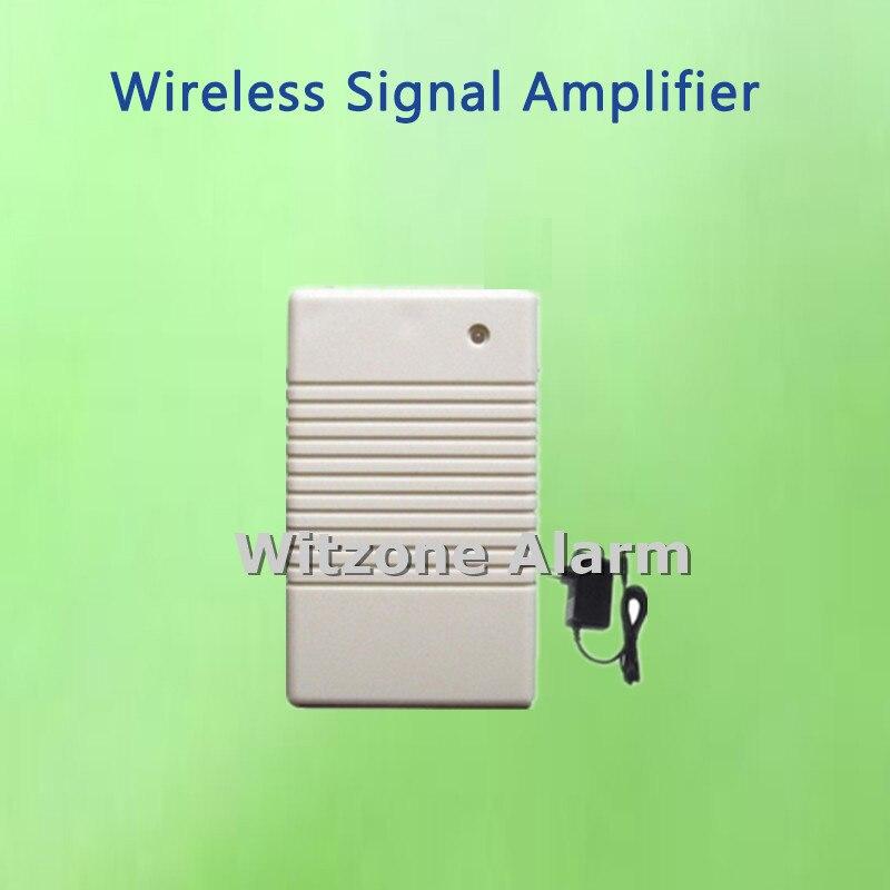 imágenes para Amplificador de señal inalámbrica 433 mhz repetidor de la señal de wifi gsm sistema de alarma G90B, extensor de señal/señal fortalecedor