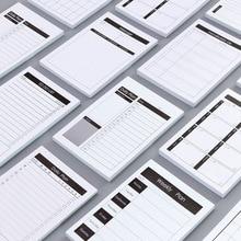 цена Creative Study&Work Plan Kraft Paper Sticky Notes Post Memo Pad Kawaii Stationery Office Accessory School Supplies To Do List онлайн в 2017 году