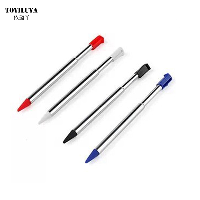 100pcs/lot 4 Colors Choice for 3DS Stylus pen Metal Touch Pen-in Stylus from Consumer Electronics    1