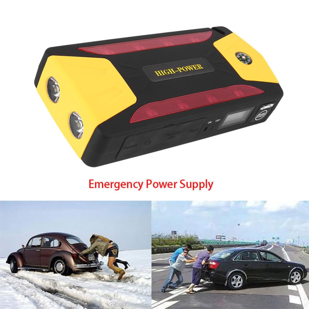 Vehemo Super puissance voiture saut démarreur batterie externe Portable voiture batterie Booster chargeur 82800 mAh démarrage essence Diesel voiture démarreur
