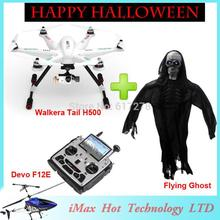 Walkera TALI H500 professional Drone Hexacopter with flying ghost DEVO F12E G-3D Gimbal ILOOK camera FPV GPS Halloween VS CX20