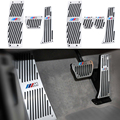 Car Aluminium Alloy Rest Gas pedal Brake Pedal for BMW X1 M3 E39 E46 E87 E84 E90 E91 E92 3-series 325li 328li 320li