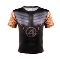 3D Printed T Shirts Men The New 3D Printing Short Sleeved Summer Men T Shirt Color