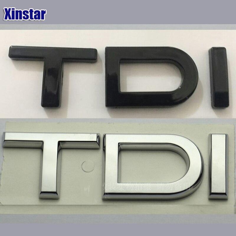 ABS sline car badge TDI car rear Emblem sticker for Audi A1 A3 A4 A5 A6 A6L A7 A8 S3 S6 Q3 Q5 Q7 TT S RS