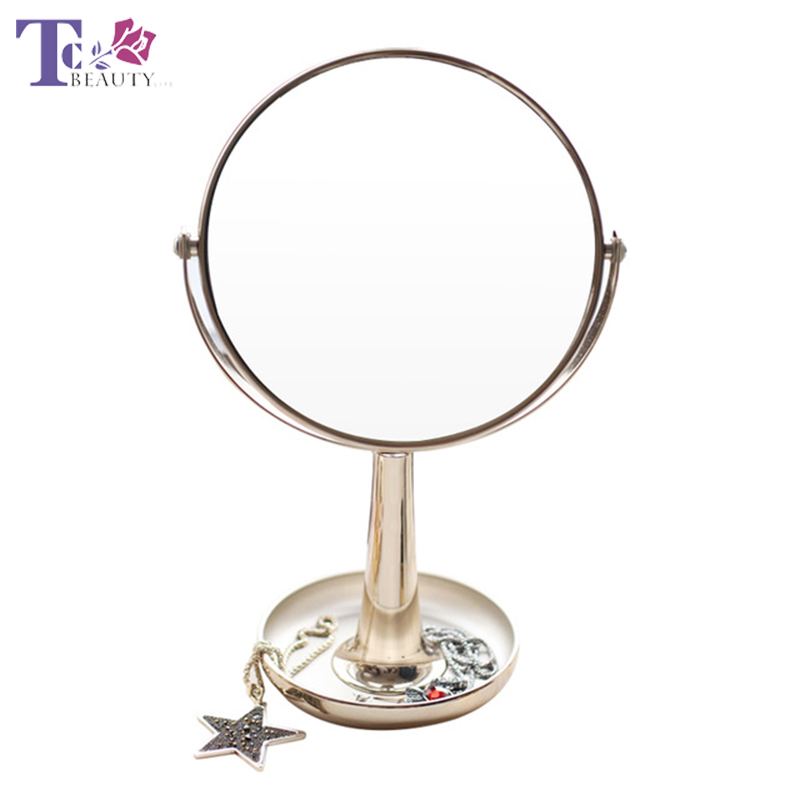 3X Magnifying Makeup Mirror Desk Table Lamp for Dressing Room Tabletop Cosmetic Mirror Make Up Tool wooden dressing table makeup desk with stool oval rotation mirror 5 drawers white bedroom furniture dropshipping
