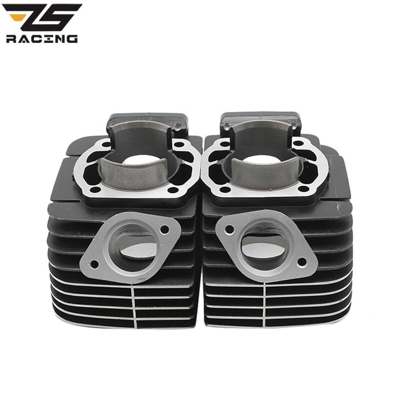 все цены на ZS Racing Original Motorcycle Parts Original Moto 64mm Cylinder For YAMAHA RD350 Supper Performance High Precision онлайн