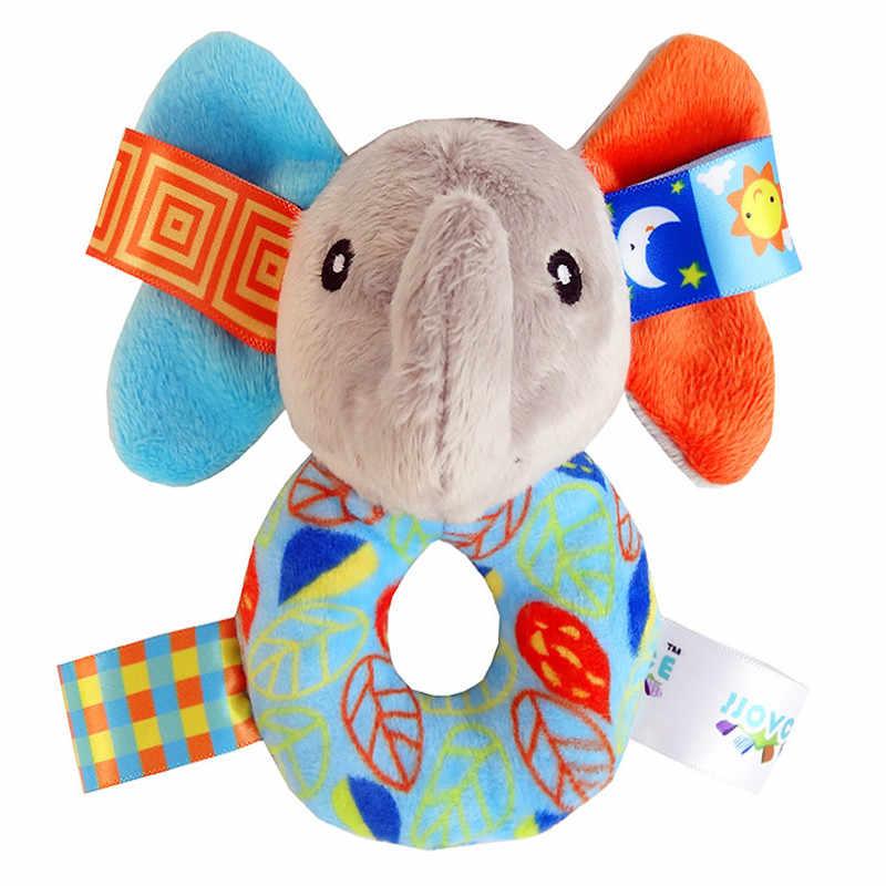 Elefante bonito do Animal/Coruja/Bing do Filhote de Cachorro de Pelúcia Boneca de Brinquedo de Pelúcia Criança Infantil Brinquedos Bebê Precoce Educacional Jogar Amigo mordedores