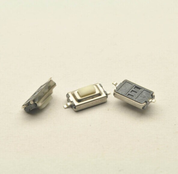 Tact Switch 3*6*2.5MM 2pin SMD long-life white/red head Micro Switch button switch microswitch Vertical for MP3 MP4 15pcs mp3 mp4 mp5 tablet pc phone button switch push button switch 3x6x3 8 3 6 3 8mm