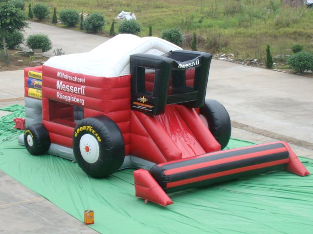 NEW cheap and fine bouncy castle Inflatable slides, bouncy castles, inflatable children's toys,customized