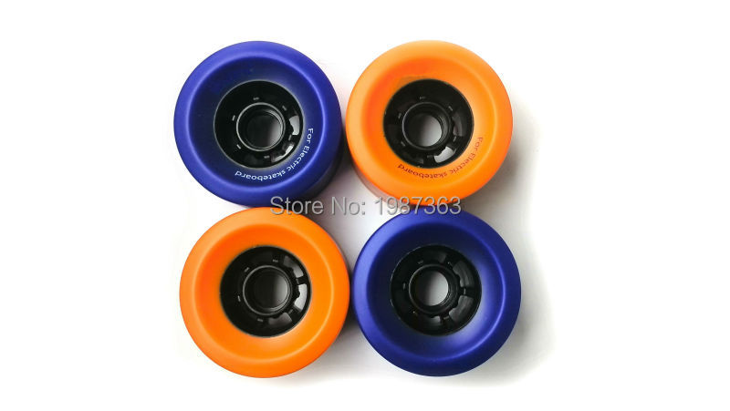 2pcs Electric Skateboard Longboard PU Wheel 83*52mm 85A