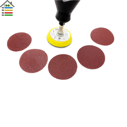 New 50pc 2 inch mix grit sander disc sanding polishing pad w backer plate fit dremel.jpg 250x250