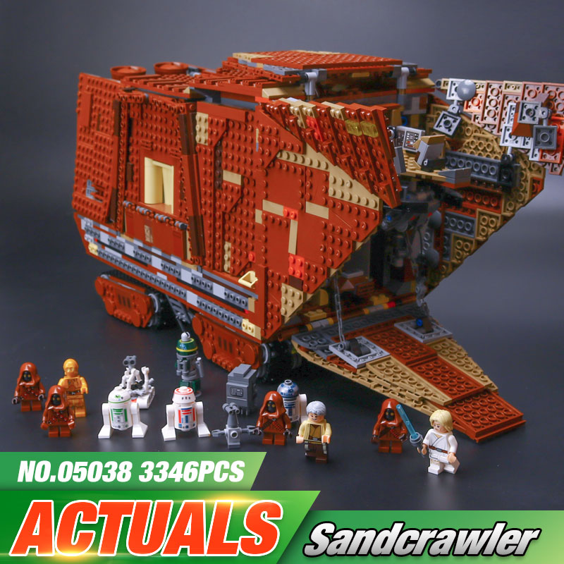 En STOCK 05038 Star Force éveille le Kit de construction de modèle de chenille de sable blocs brique lepin Wars Compatible legoinglys 75059 cadeaux pour garçons