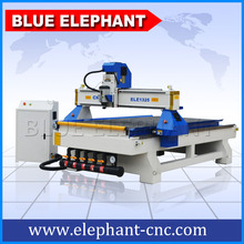 ELE 1325 Wood door making cnc router cutting / furniture manufacturing machinery with CE , ISO certification