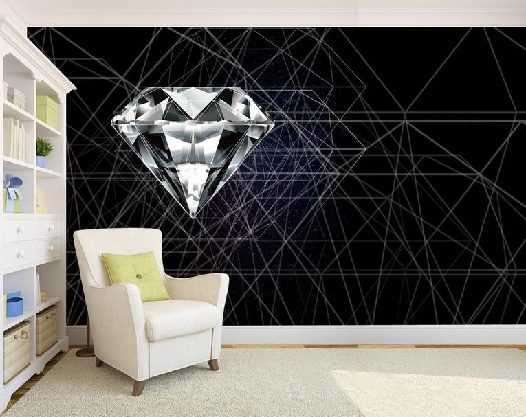 Desktop абстрактные обои для стен Домашний Декор Современный Гостиная Задний план настенные фрески Спальня алмаз обои настенная