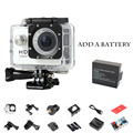 2pcs battery SJ4000 Sports Action Video Camera go pro hero style Action Camera 1080P Full HD 5MP 30fps Sports DV waterproof 30M