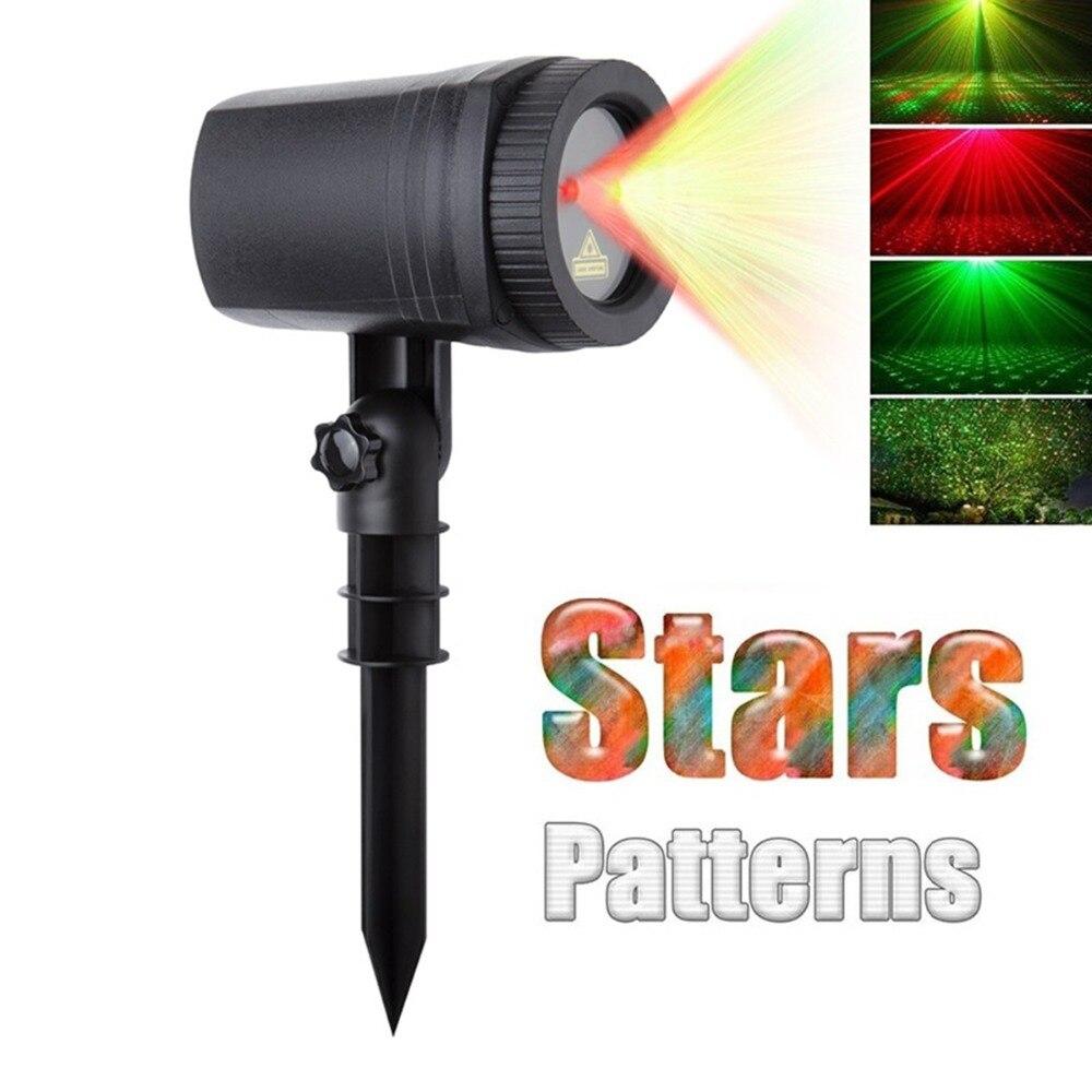 Navidad luces láser proyector al aire libre jardín movimiento ...