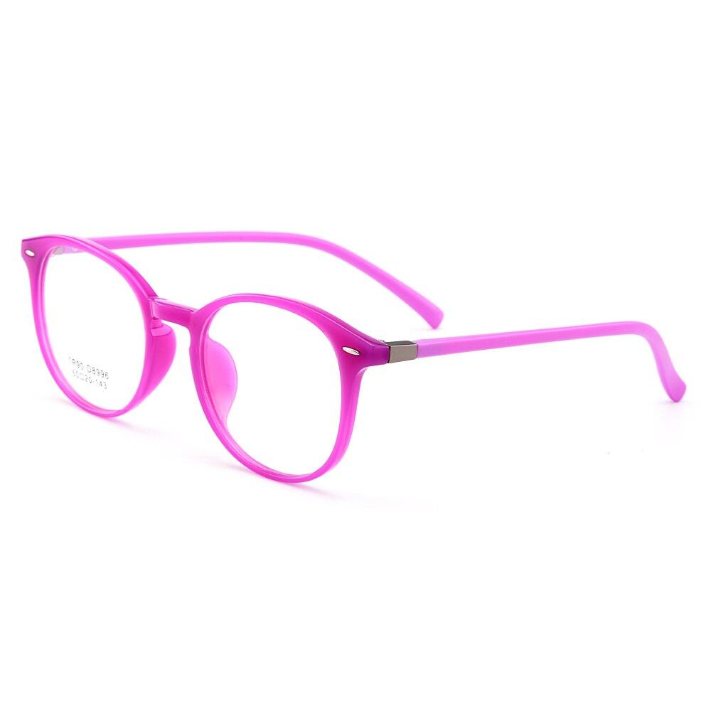 cd507099c9 BAONONG New Arrival Round Simple Design Ultralight TR90 Optical Eyeglasses  Full Rim Frame For Women s Prescription Glasses A8996-in Eyewear Frames  from ...