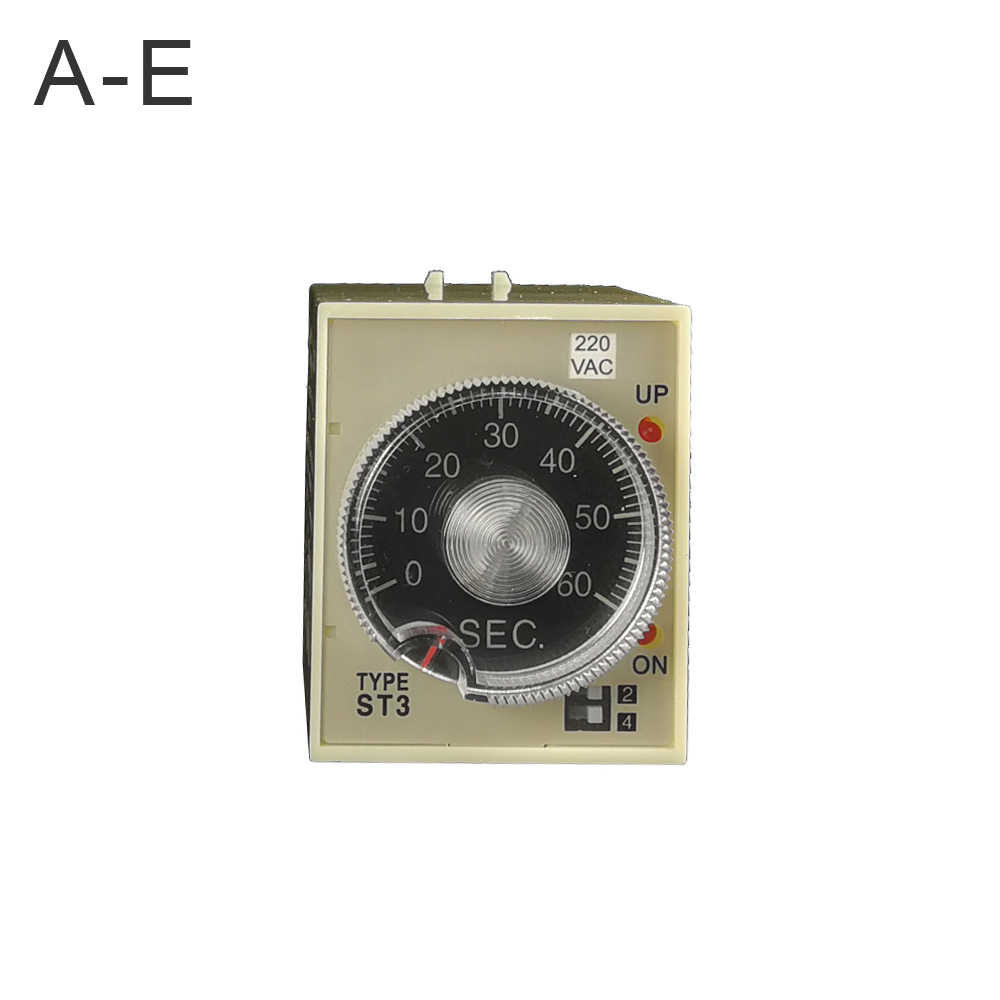 1 pcs good quality good price AC220V ST3PA-E/F/G time delay relay 220VAC off delay timer relay 8 pins off timer time CE got 2019