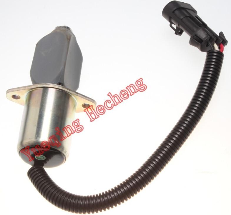 6681513 Shutoff Solenoid for S150 S160 S175 S185 T190 751 753 763 773 water pump 6653941 for skidsteer loader 643 645 743 751 753 763 773 7753