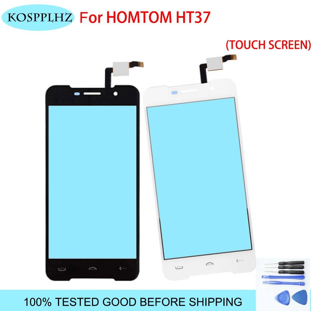 Para homtom ht37 Original Touch Panel TP Perfeito Peças de Reparo + Ferramentas 100% testado Tela Sensível Ao Toque de 5.0 polegada Para Homtom HT 37 pro