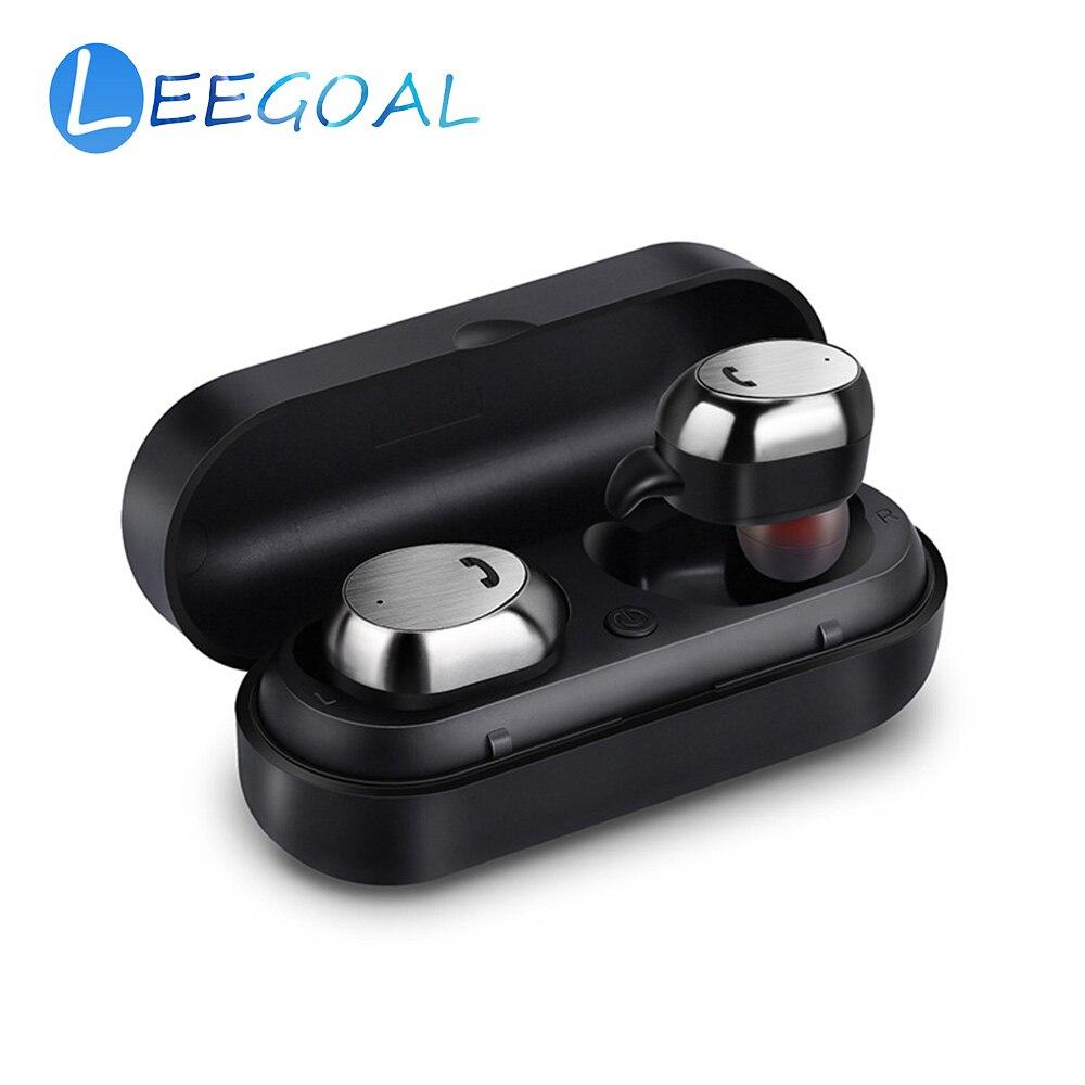 M9 TWS sans fil Sport Bluetooth casque stéréo double acier inoxydable écouteur pour iPhone Samsung XIAOMI HUAWEI