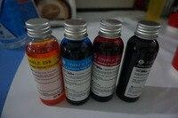 2 satz/los  4*100 ml pro set Essbare tinte für kaffee Flachbettdrucker zu drucken kaffee  kuchen  süßigkeiten etc