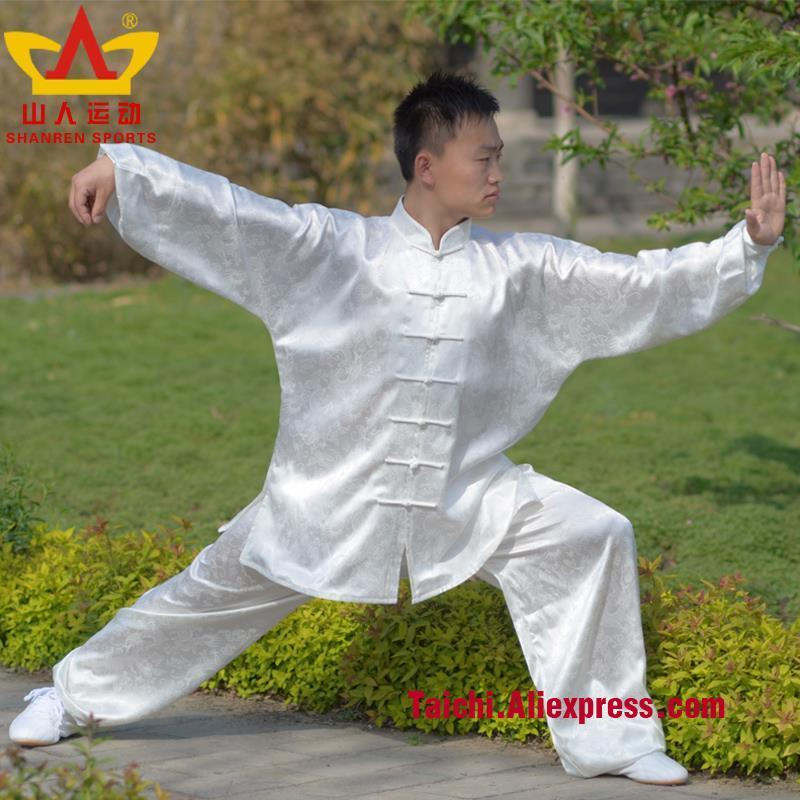 High-grade dragon veins tai chi  men clothing martial arts uniforms Kungfu Clothing Wushu suit clothes high quality kendoist white kendo laido aikido hapkido hakama martial arts uniforms japanese dobok sz xxs 6xl