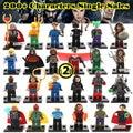 Single Sale Individually Sale Marvel  Avengers Iron Man Batman Building Blocks Sets Model Toys