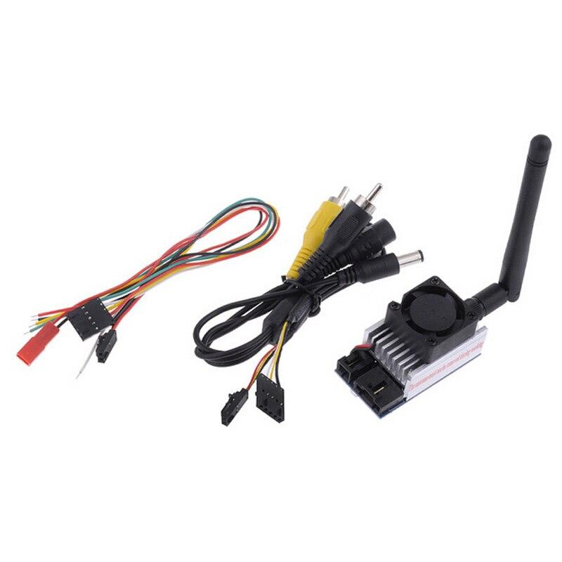 ФОТО Free shipping Boscam 5.8Ghz 1000MW TX51W AV wireless Transmitter 5705-5945Mhz longer range with FPV /OSD