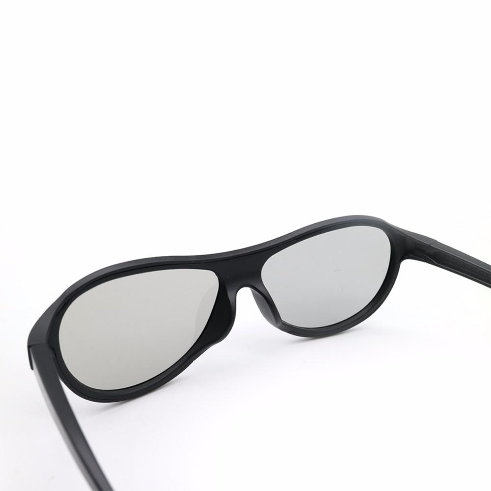 4 unids / lote reemplazo AG-F310 gafas 3D polarizadas gafas pasivas - Audio y video portátil - foto 2