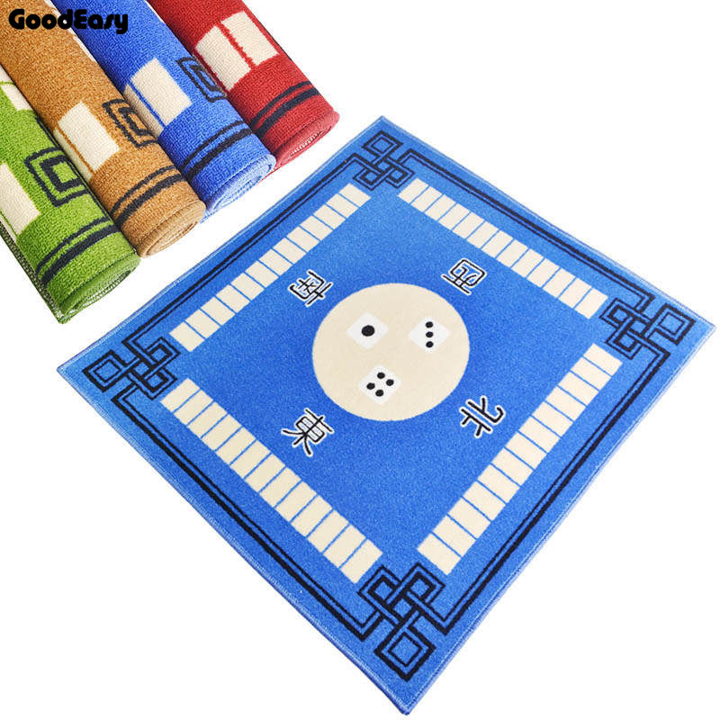 Mahjong Table Cloth Family Party Game Mahjong Table Mat Rub Mute Household Poker Thickening Carpet household mahjong Towel cloth(China)