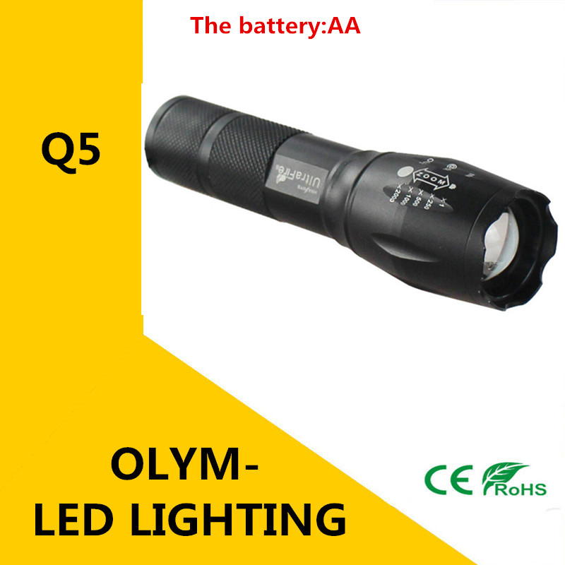 Q5 led flashlight zoomable led torch light lamp 3-mode lanterna de antorcha poderosa luz da bicicleta da bicicleta led light