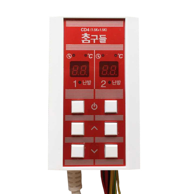 Dual temperature control SCR electric film Silent electronic timer thermostat thermostat 3000w scr voltage temperature