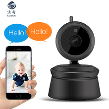 360 Degree Wireless IP WIFI Camera 1080P H.264 CCTV HD 2MP P2P Cam IR Night Vision Motion Detect Intercom Support Onvif128G
