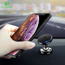 FLOVEME Magnetic Mount Car Phone Holder For iPhone XS Samsung Magnet in Cell Mobile Stand