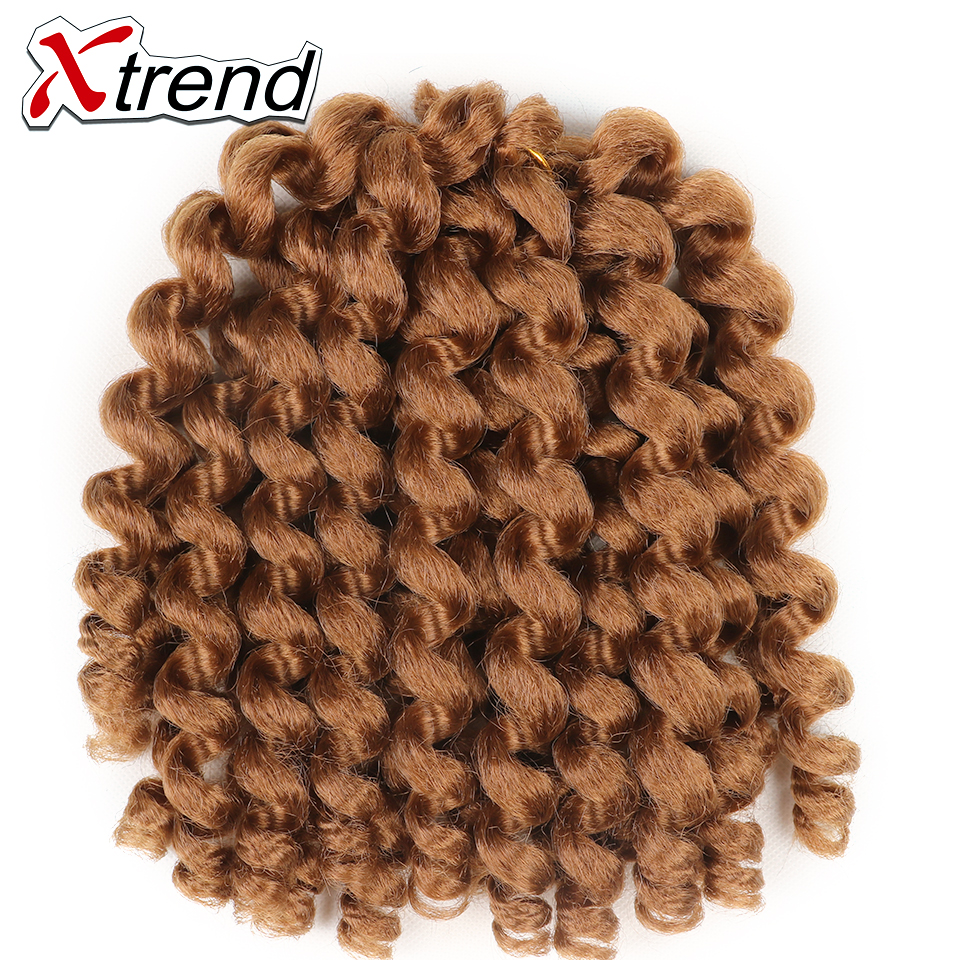 Compare prices on jamaican hair extensions online shoppingbuy xtrend 9pcs ombre jumpy wand crochet braid hair extensions 8inch 75g synthetic bounce jamaican twist hair pmusecretfo Choice Image