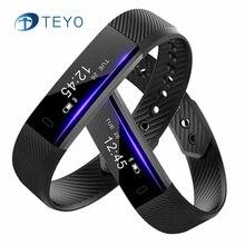 Teyo Горячая Смарт-браслет ID115 Камера удаленного Шагомер монитор сна будильник вибрации pulsersa inteligente для iOS и Android